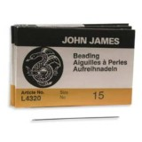 John James needles beading #15