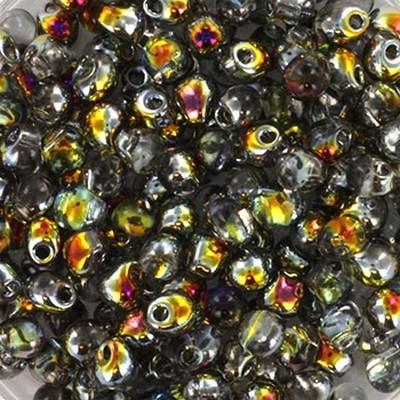 koraliki Miyuki drop crystal marea 3.4 mm #DP-4551