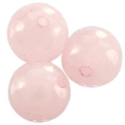 топчета розов кварц 6 мм
