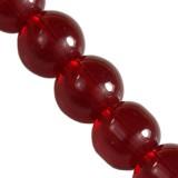 kule czerwone 8 mm / koraliki szklane