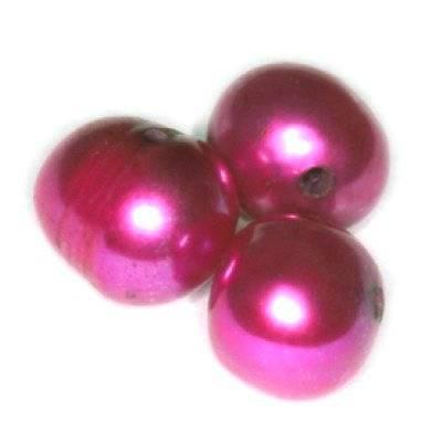 πέρλες γλυκού νερού 6-7 mm ροζ
