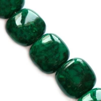 Pietra quadratini marmo allo smeraldo 8 x 4 mm / Pitere dure