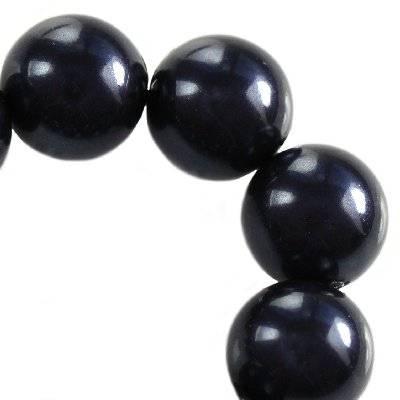 Swarovski crystal night blue pearl 6 mm