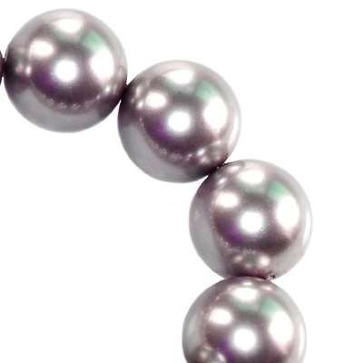 Swarovski crystal mauve pearl 6 mm