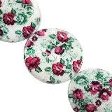 mother of pearl coin poppies 30 mm