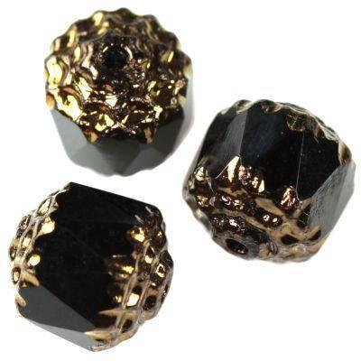bols beads black 8 mm