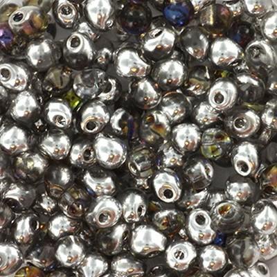 Miyuki drop crystal heliotrope 3.4 mm #DP-4554