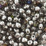 korálky Miyuki drop crystal heliotrope 3.4 mm