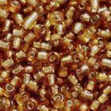 perles de graine de verre de 2 mm