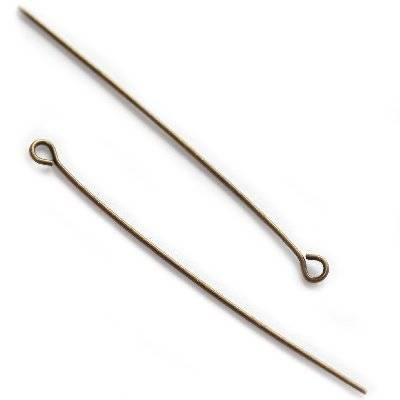 spilli di ferro con occhiello 5 cm