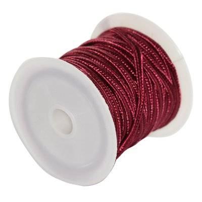 corde à soutache rouge 2.5 mm