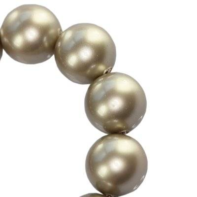 Swarovski crystal pearl platinium 6 mm