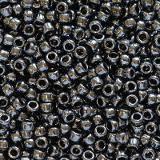 Toho seed beads round metallic hematite 1.6 mm TR-15-81