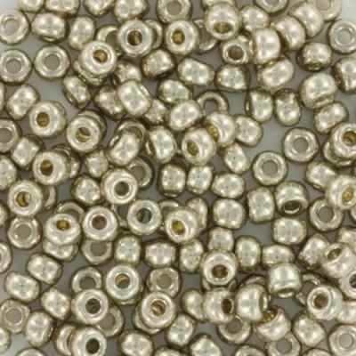 Miyuki round beads duracoat galvanized silver 8/0 #8-4201