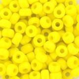 Perles Miyuki rocailles 6/0 opaque yellow #6-404
