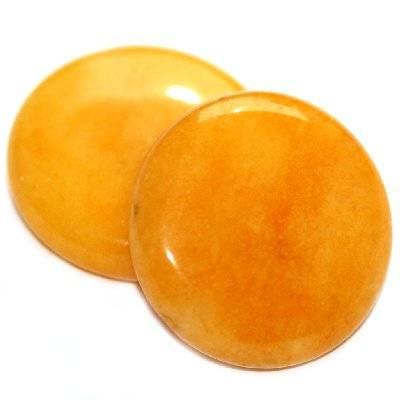 pièces de monnaie néphrite ambre 25 mm
