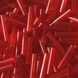 glass tubes dark red 9 mm