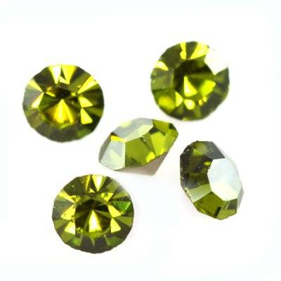 zirconium mc chaton cristal olivine SS 15