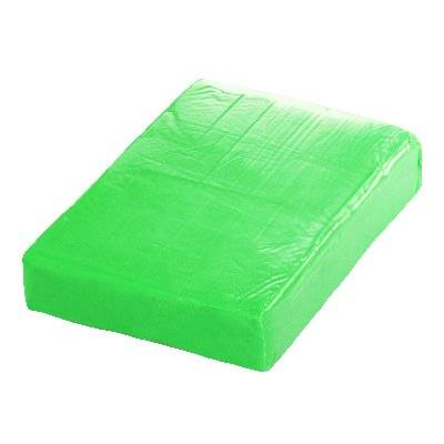 soft modelling clay lime 70 x 40 x 15mm