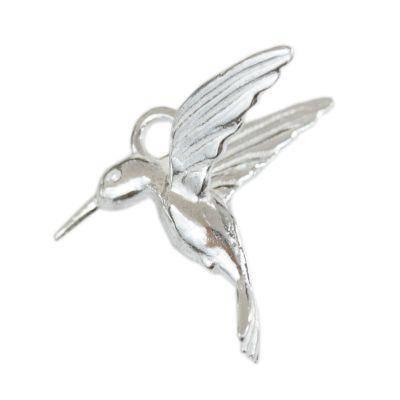 argent 925 pendentif colibri