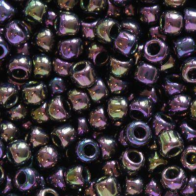koraliki Toho round metallic iris purple 2.2 mm TR-11-85