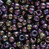 perles Toho round metallic iris purple 2.2 mm TR-11-85