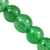 round jade green 4 mm
