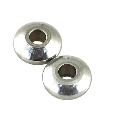 disc 6 x 2.5 mm acier inoxydable 316