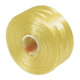 S-lon bead cord tex 35 gold yellow