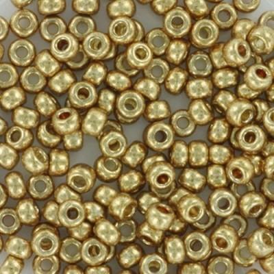 Miyuki round beads duracoat galvanized champagne 8/0 #8-4204