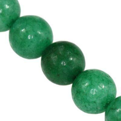 round jade green 6 mm