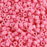 Miyuki Delica beads duracoat opaque dyed carnation 1.6 x 1.3 mm DB-2117