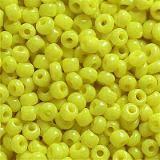 frø glas perler gul 2 mm
