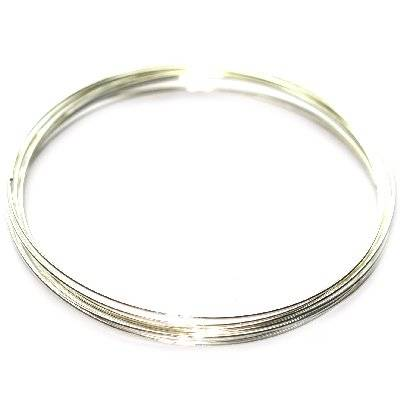 memory wire silver color 55 mm jewellery findings
