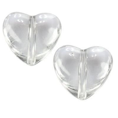 serca przezroczyste 18 x 18 mm