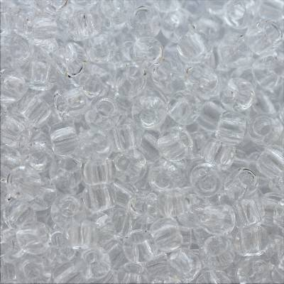 Toho beads round transparent crystal TR-11-1