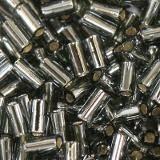 perline Toho bugle silver-lined gray 3 mm TB-01-29B