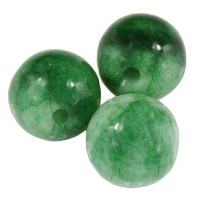 round jade green 8 mm