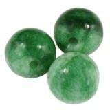 jadeit zielony 8 mm kamień naturalny barwiony