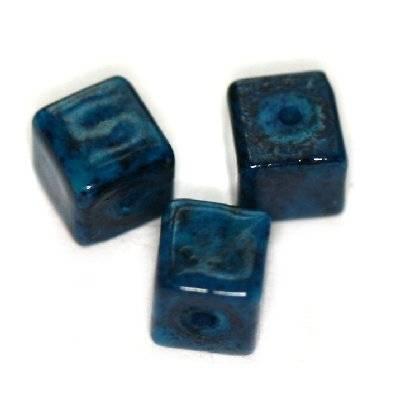 cubes marbre azuré 4 x 4 mm