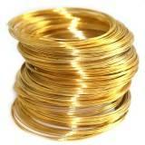 fil en métal d'or avec mémoire 5,5 cm