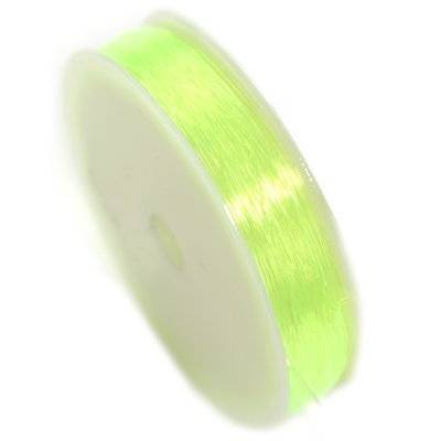 elastic fishing wire yellowgreen 0.8 mm