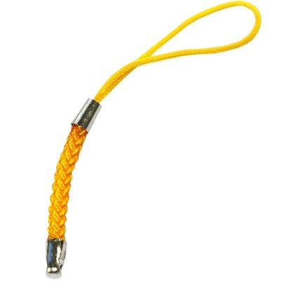 pendentif jaune à téléphone mobile