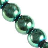hematyt zielone 6 mm kamień jubilerski