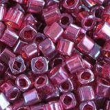 Toho beads cube gold-lustered raspberry 1.5 mm TC-01-332 beads perline Toho cube gold-lustered raspberry 1.5 mm TC-01-332