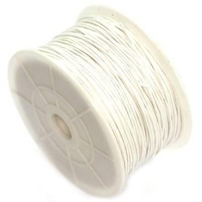 sznurek bawełniany ecru 1 mm