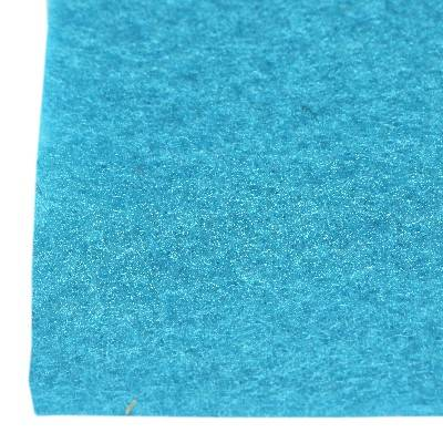 feltro azzurro 1 mm foglio 20 x 30 cm