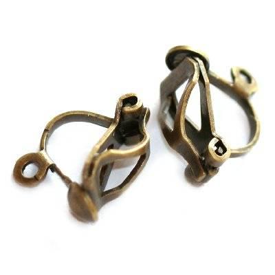 clip oorbellen klein met een oogje