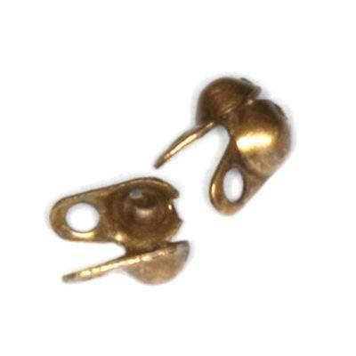 łapaczki do linki 3,9 mm antyczne