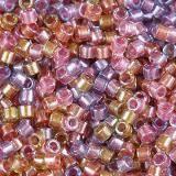 Miyuki Delica sparkling lined tutti frutti mix 1.6 x 1.3 mm DB-0982